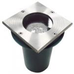 Тротуарный светильник Feron JCDR-18LED 230V G5.3 квадрат IP65, WL4102