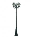 Садовый светильник BRILUX VITRA S3, черный, арт. LO-VITRS3-00