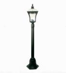 Садовый светильник BRILUX VITRA S1, черный, арт. LO-VITRS1-00