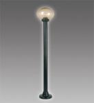 Садовый светильник BRILUX KARIO 110,black/prism.smoked, арт. LO-KAR110-59