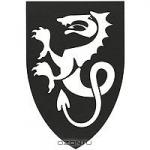 """Медальон для двери """"Змей"""""""