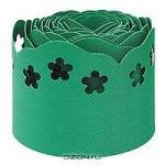 Лента фигурная, цвет: зеленый, 15 см х 9 м